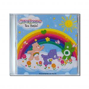cd personnalisé enfant bisounours