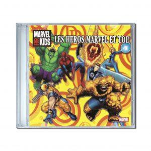 héros marvel cd personnalisé prénom